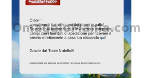 trolley Nutella vinto con Nutella for Babbo