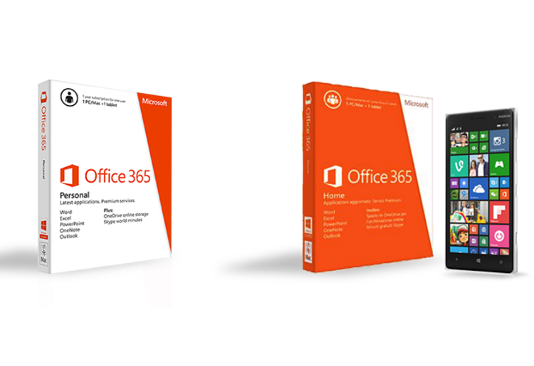 vinci Office 365 o Lumia 830 con #vivi365