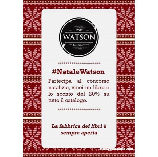 vinci libro con #NataleWatson