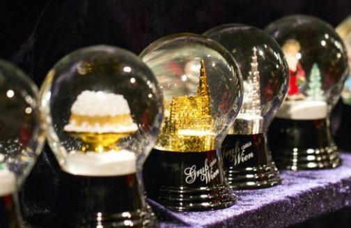 vinci palla di neve personalizzata con Wien.info