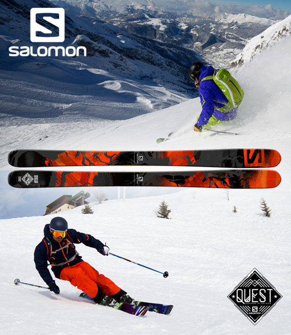 vinci sci Salomon Q-98 con Sportler