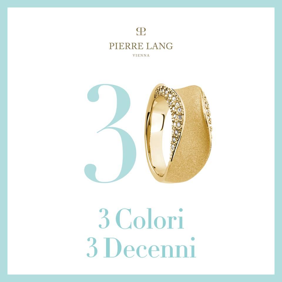 vinci set cuore Pierre Lang 3 colori 3 decenni