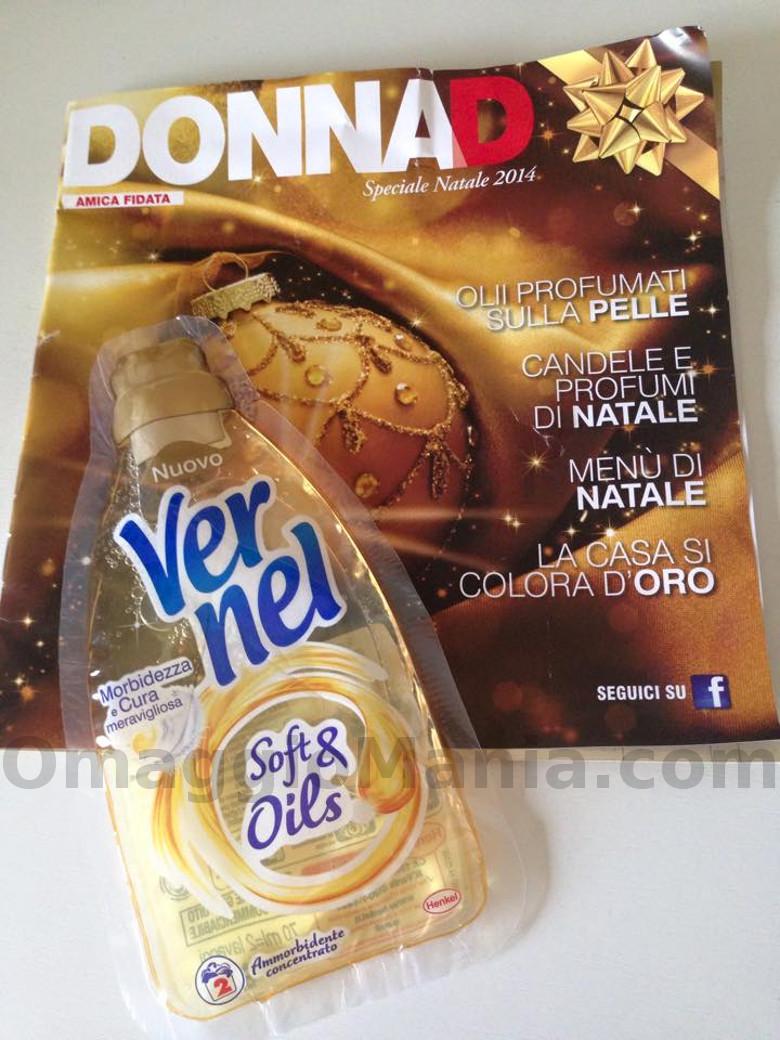 DonnaD con campione omaggio Vernel Soft&Oils