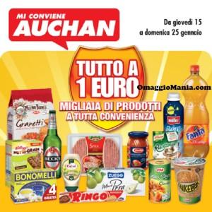 Tutto a 1 euro Auchan