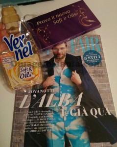 Campione omaggio di Vernel Soft and Oils con Vanity Fair