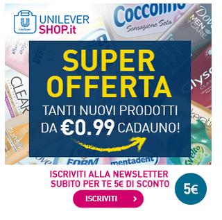 buono sconto Unilever Shop