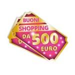 buono shopping 500 euro Lines Mania 2015