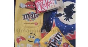 calze Befana omaggio M&M's e KitKat