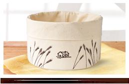 cestino in stoffa Mulino Bianco 2015