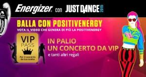 concorso a premi Balla con Positivenergy