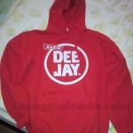 felpa Radio Deejay vinta da Mara