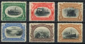 francobolli USA Esposizione Buffalo 1901