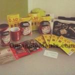 kit Nescafè Cappuccino ricevuto gratis da Mia