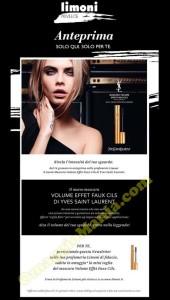 mascara Yves Saint Laurent omaggio Limoni Profumerie
