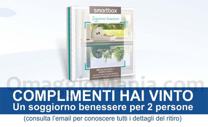 Vinci soggiorno benessere Smartbox con Coop | OmaggioMania