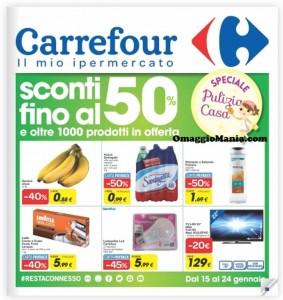 sconti fino al 50% Carrefour