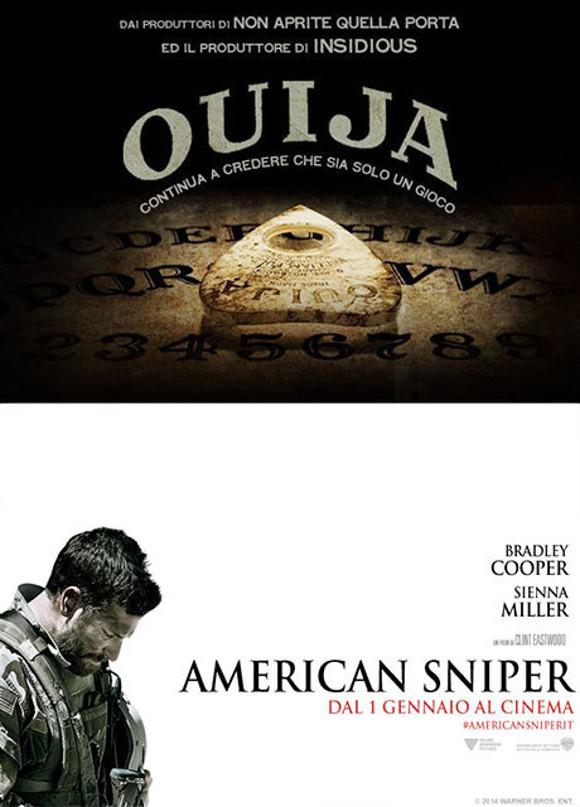 #AppenaVisto: vai al cinema gratis per American Sniper e Ouija
