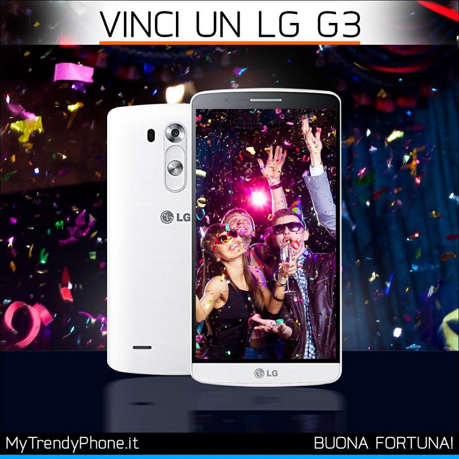 vinci LG G3 con MyTrendyPhone Italia