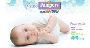 vinci Pampers BabyDry con QuiMamme