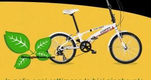 vinci bici pieghevole con Vallelata