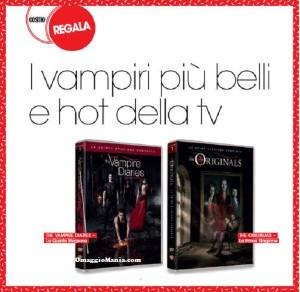 vinci cofanetti The Vampire Diaries e The Originals