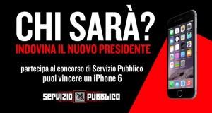 vinci iPhone 6 con il concorso Servizio Pubblico Chi sarà