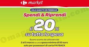Carrefour Market Spendi & Riprendi 20