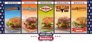 Great Tastes of America McDonald's