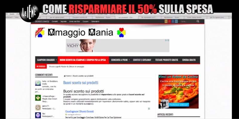 OmaggioMania in TV alle Iene