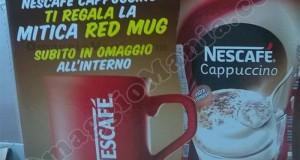 Red Mug Nescafé omaggio da MD e LD