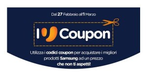 Unieuro coupon Batte, Forte, Samsung