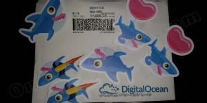 adesivi omaggio DigitalOcean