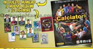 album figurine Panini Calciatori 2014-2015 omaggio con Calciatori Mag