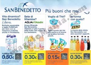 buoni sconto San Benedetto