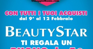 buono sconto BeautyStar per San Valentino