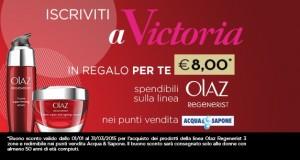 buono sconto Olaz Victoria50