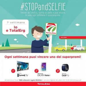 concorso #STOPandSELFIE TotalErg
