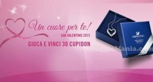 concorso San Valentino Swarovski per vincere Cupidon