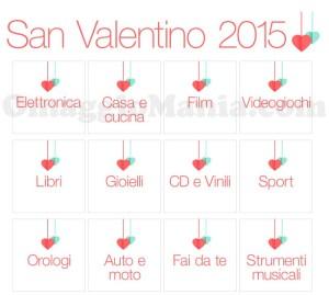 offerte Amazon San Valentino 2015