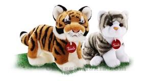 peluche gatto e tigre Trudi