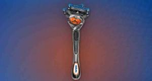 rasoio Gillette con tecnologia FlexBall