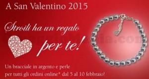 regalo San Valentino 2015 Stroili Oro