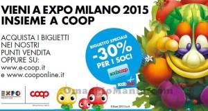 sconto COOP biglietti EXPO Milano 2015