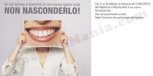 spazzolino omaggio consorzio InFarmacia