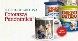 tazza omaggio da Orzo Bimbo