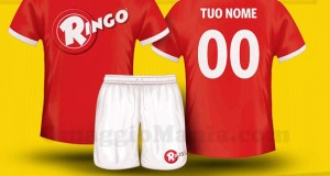 vinci completo da calcio Ringo autografato da El Shaarawy