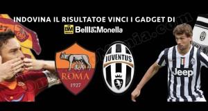 vinci gadget indovinando Roma-Juventus