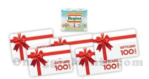 vinci gift card da 100 euro con Regina dei Desideri