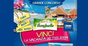 vinci la vacanza dei tuoi sogni con Bonduelle