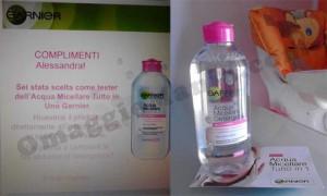 Acqua Micellare Garnier gratis
